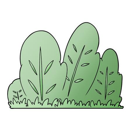 cartoon hedge