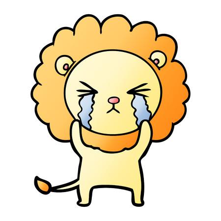 漫画泣くライオン