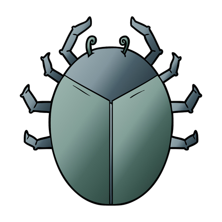 giant bug cartoon 스톡 콘텐츠 - 95634139