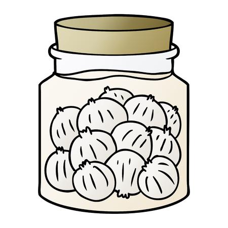 cartoon pickled onions