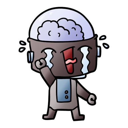 漫画泣きロボット