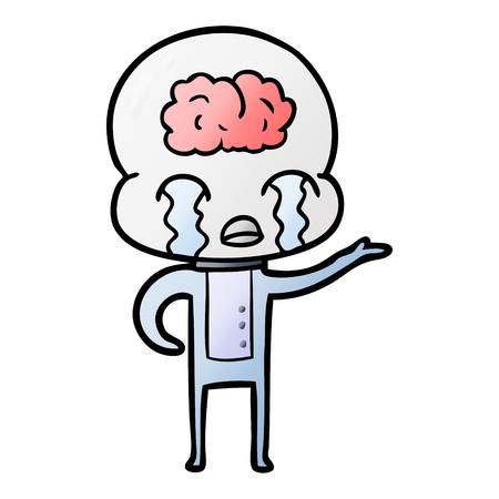 漫画大脳エイリアン泣いて