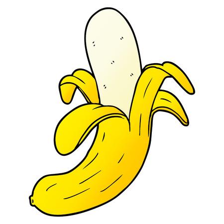 Progettazione dell'illustrazione della banana del fumetto. Archivio Fotografico - 95543842