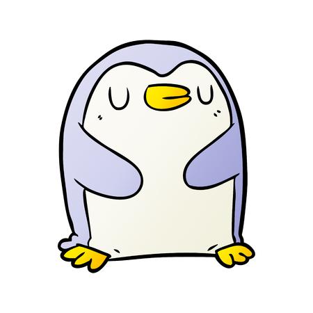 cartoon penguin Stock Illustratie