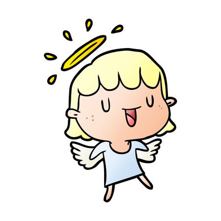 cute cartoon angel 版權商用圖片 - 95544498