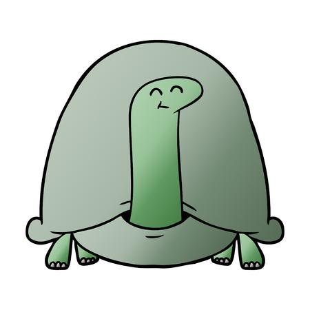 Schildkröte Grafikdesign in Cartoon Illustration Standard-Bild - 95602507