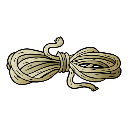 cartoon rope illustration design.