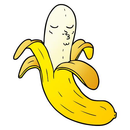 cartoon best quality organic banana Stock Vector - 95545207