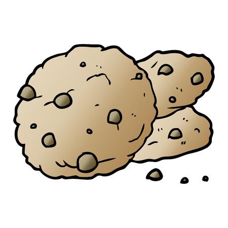 cartoon cookies illustration design.