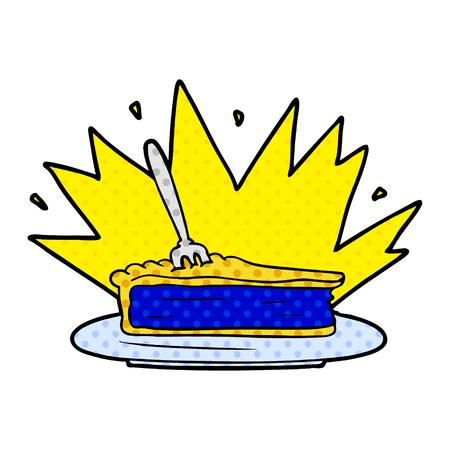 Amazing dessert cartoon Ilustracja