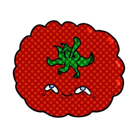 cartoon tomato Vector illustration. Stock Vector - 95662925