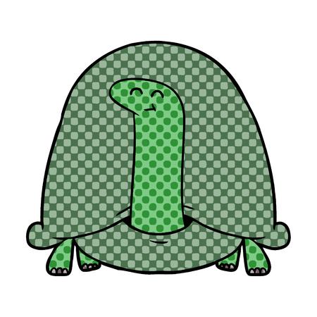 cartoon tortoise illustration design