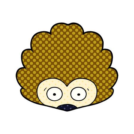 cartoon hedgehog illustration design Archivio Fotografico - 95639291