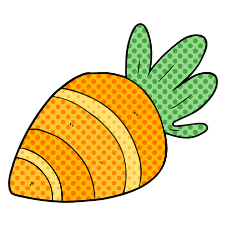 cartoon carrot illustration design
