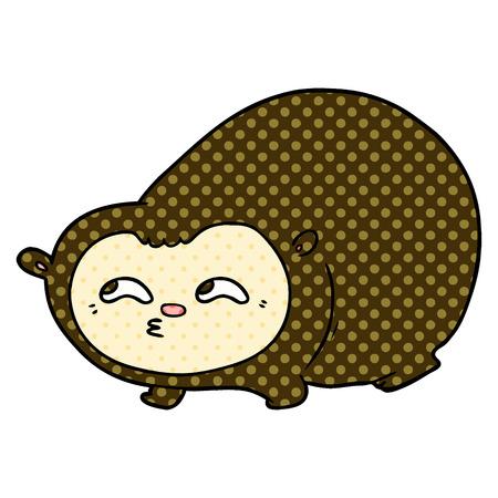 Cartoon wombat