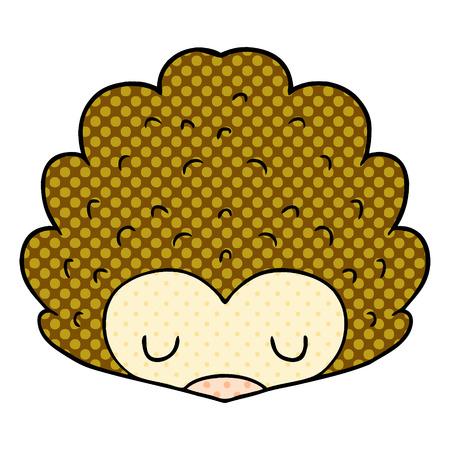 cartoon hedgehog illustration design Archivio Fotografico - 95639608