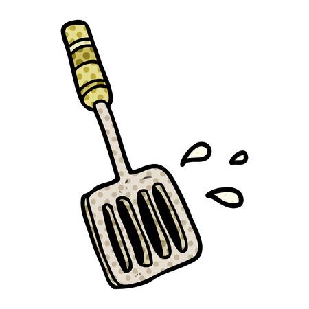 cartoon kitchen spatula tool 版權商用圖片 - 95639740