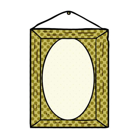 Cadre photo de dessin animé Banque d'images - 95639814