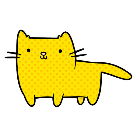 cartoon cat illustration design Stock Vector - 95640181