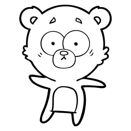 不安クマ漫画