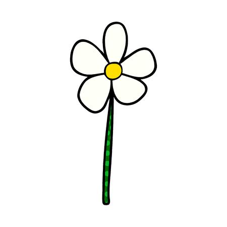 cartoon flower Vector illustration. 版權商用圖片 - 95739493