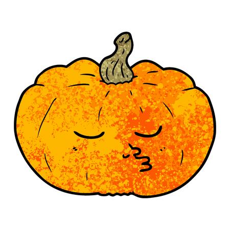 cartoon pumpkin illustration design