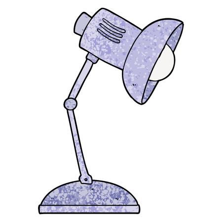 cartoon lamp illustration design Illustration