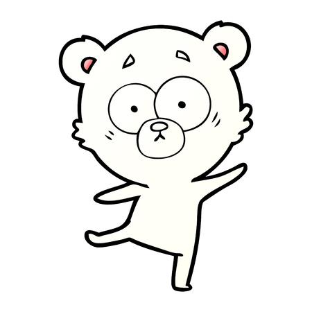 IJsbeer cartoon Stockfoto - 95725530