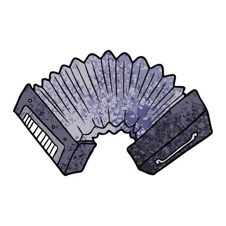 Accordéon de dessin animé Banque d'images - 95726959