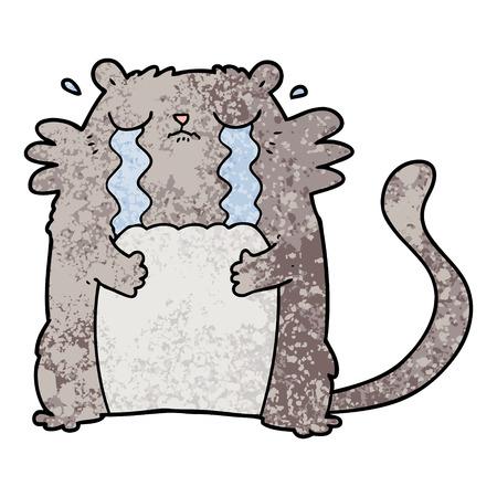 漫画泣く猫