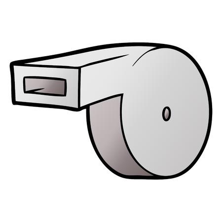 Cartoon whistle Archivio Fotografico - 95762554
