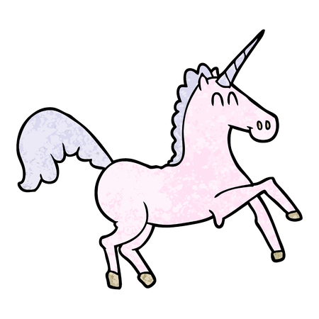 cartoon unicorn illustration design