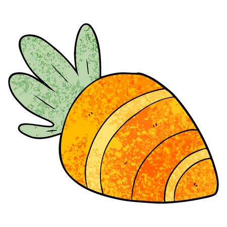 cartoon carrot illustration design