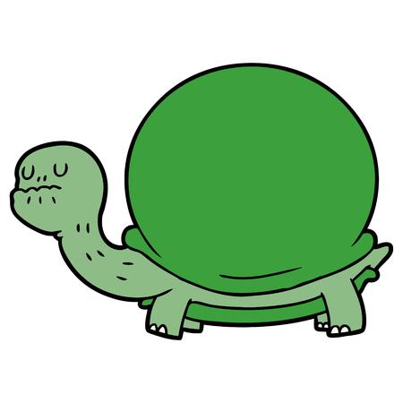 Cartoon Schildkröte Illustration Design Standard-Bild - 95754545