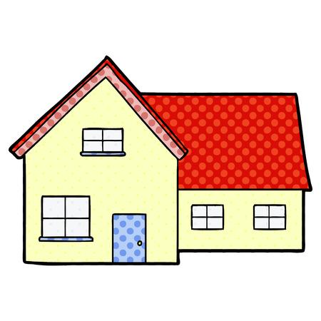 Cartoon huis illustratie