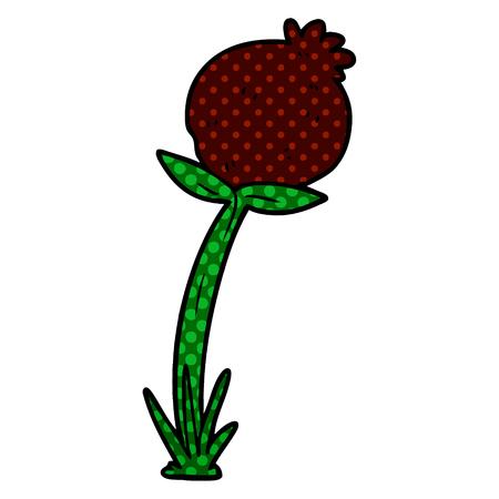 Cartoon poppy