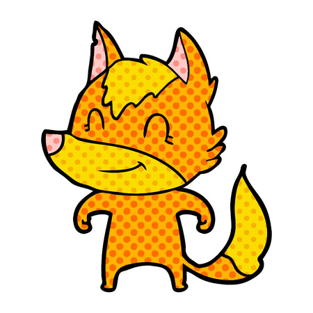 Fox cartoon character.