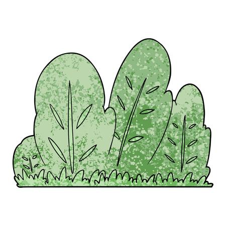Cartoon hedge Ilustracja
