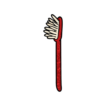 Cartoon toothbrush