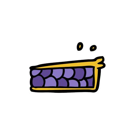 cartoon pie  イラスト・ベクター素材