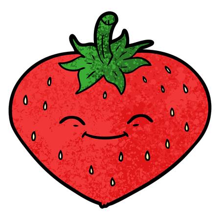 Cartoon strawberry Фото со стока - 96491377