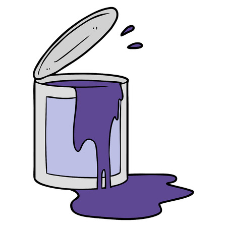 cartoon paint bucket Reklamní fotografie - 96539832