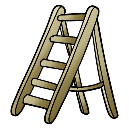 cartoon ladder
