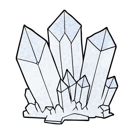 cartoon crystals