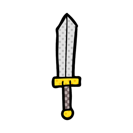 cartoon sword