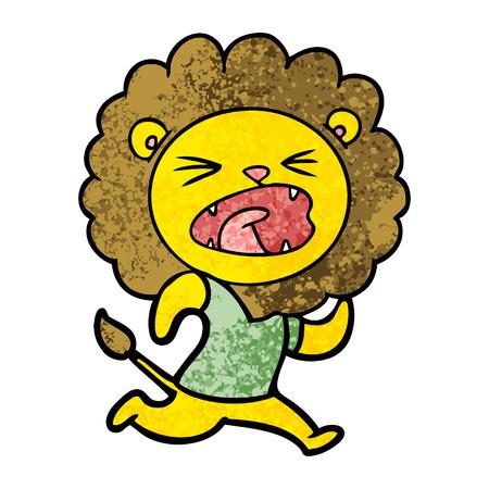漫画ライオンランニング