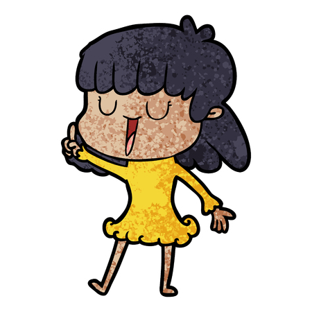 Cartoon Frau Standard-Bild - 96546228