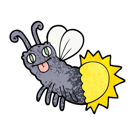 cartoon firefly Illustration