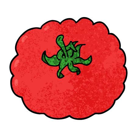cartoon tomato Ilustrace