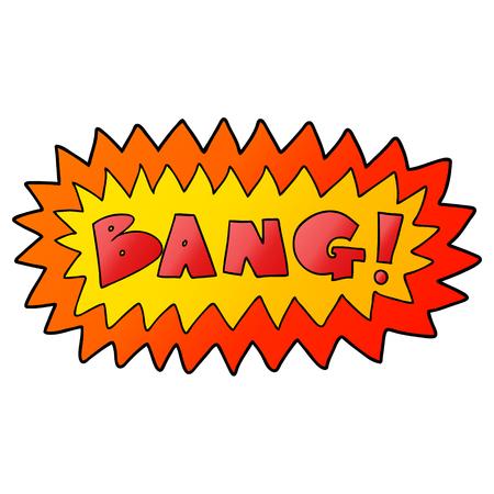 cartoon bang symbol